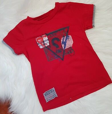 GUESS Size 12m red t-shirt