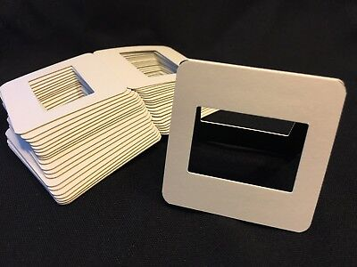 100 35mm Slide Mounts cardboard for Kodak Fuji
