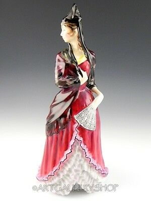 Royal Doulton 1973 Tall Figurine HN 2712 MANTILLA LADY FLAMENCO DANCER Mint