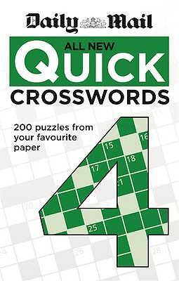 Daily Mail: All New Quick Crosswords 4 by Daily Mail (Paperback, 2013)