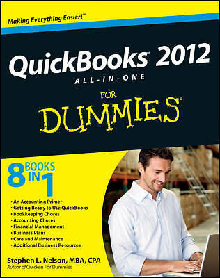 QuickBooks 2012 All-in-one for Dummies by Stephen L. Nelson (Paperback, 2012)