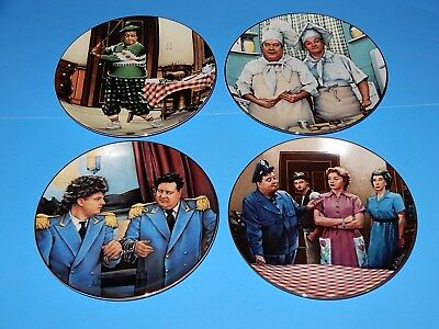 The Hamilton Collection Honymooners Series Collectors Plates Set 8