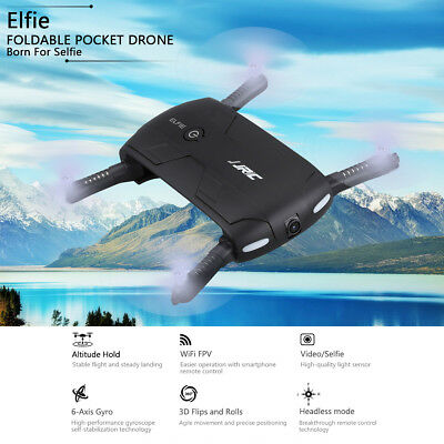 JJRC H37 ELFIE Foldable Pocket Selfie Drone WiFi FPV Phone Control RC Quadcopter