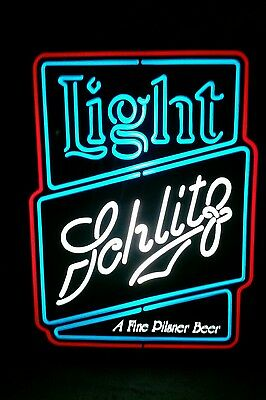 Schlitz Light Beer lighted light New Old Stock