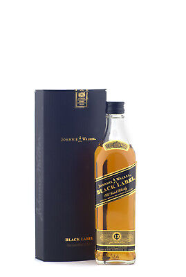 Johnnie Walker 12yo Black Label Extra Special Scotch Whisky 200ml