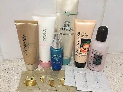 Avon 13 Items Face & Body Products