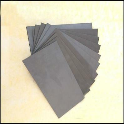 1pcs Graphite Anode Sheet Carbon Plate for Hull Cell 3mm x 70mm x 60mm