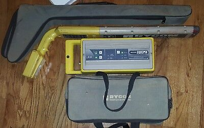 Rycom Cable & Pipe Locator 8879 Transmitter 8879CP Reciever & New Battery