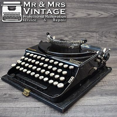 machine crire remington n 12 vintage typewriter decor loft eur 150 00 picclick fr. Black Bedroom Furniture Sets. Home Design Ideas