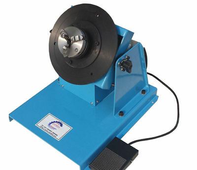 10KG Auto Welding Positioner Light-duty Welding Turntable with 65mm Chuck 220V