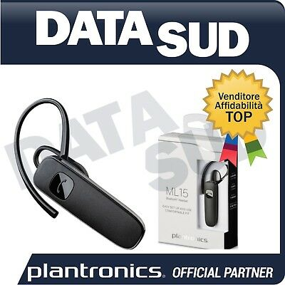 AURICOLARE PLANTRONICS ML15 Bluetooth Headset Per Dispositivi Mobili ... a3258b63e0e4