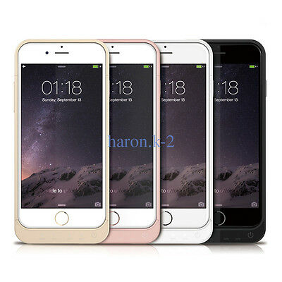 Fr iPhone5 5SE 6 6S Plus Battery Backup Case Charger Power Bank 5800mAh AD3