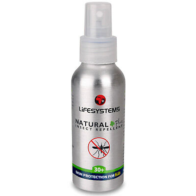 Lifesystems Natural 30+ Insect Repellent Spray - 100ml