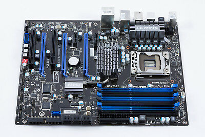 MSI X58 PRO Sockel Intel 1366 Mainboard Motherboard + 2x SATA Kabel + Blende