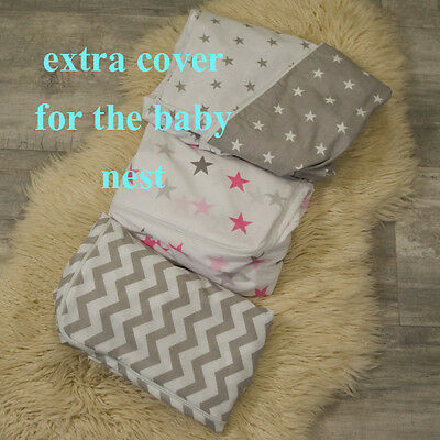 Additional Cover for the Toddler size baby nest bed, babynest, co sleeper