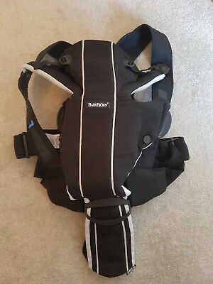 Baby Bjorn Miracle Carrier. Perfect condition. With Back Support