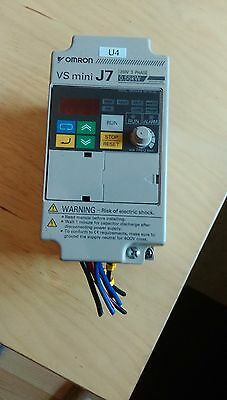 Omron VS mini J7 VFD CIMR-J7AZ20P4 Frequency Converter