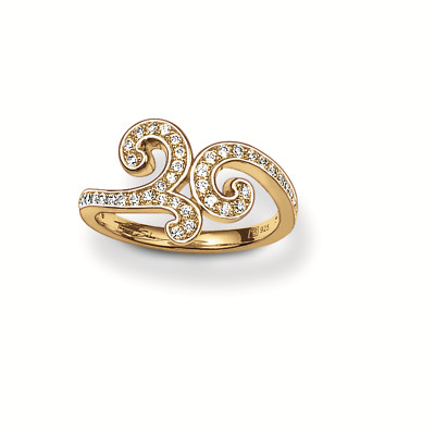 S0310024 Anello Donna Thomas Sabo Tr1953-414-14-56 (17,8 Mm)