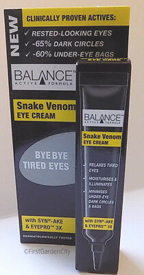 Snake Venom Eye Cream to Rest Tired Eyes - Free Post and Packing