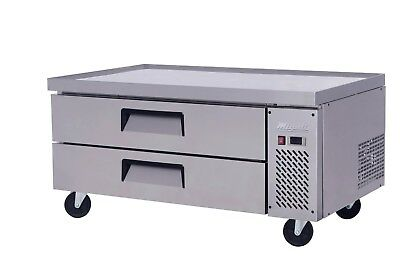 "Migali C-CB48-HC 48"" Refrigerated Chef Base - 2 Drawers - 15 Pans FREE SHIPPING"