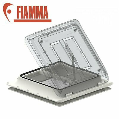 Fiamma Roof Vent Crystal Sky light 400 x 400mm Flynet Caravan Motorhome 04328B01