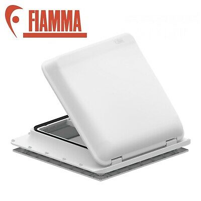 Fiamma Roof Vent White Sky light 400 x 400mm Flynet Caravan Motorhome 04328B01