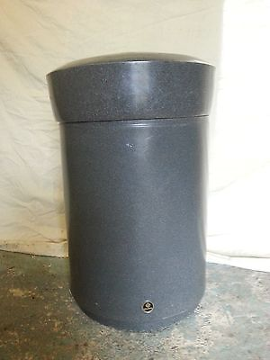 Glasdon Statesman 110Ltr Swing Top Litter Bin