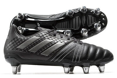 adidas Kakari Elite SG Black Out BY1968 Rugby Boots Size UK 10 10.5