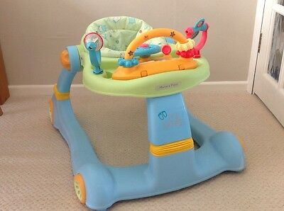 Mamas and Papas tiny steps 2 in 1 activity walker