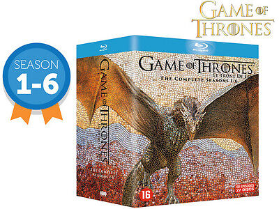 Game of Thrones: The Complete Seasons 1-6 Blu-ray Disc 2016