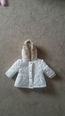 girls 0-3 months Winter padded jacket