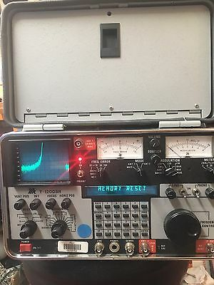 IFR 1200 AEROFLEX T-1200SR RECEIVER Spectrum Analyzer 1200S