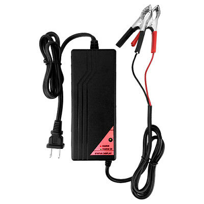 12V Multimode Battery Charger/Maintainer Tender for Motorcycle Car Boat and ATV