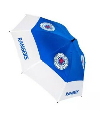 Brand New Rangers Fc Double Canopy Golf Umbrella