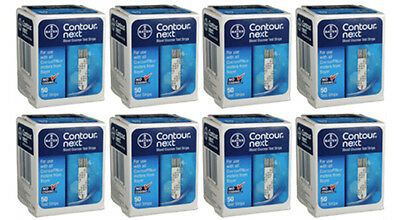 Bayer Contour Next Test Strips - 400 Count (8 Boxes of 50) EXP IN 2019