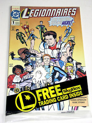 Legionnaires #1   Still Polybagged With Insert Card