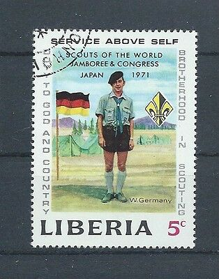 Liberia Deutschland Pfadfinder Brotherhood in Scouts Kongress Japan 1971