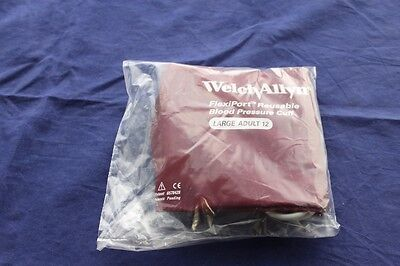 Welch Allyn FlexiPort Adult Blood Pressure Cuff Size Adult 11 & 12, BRAND NEW