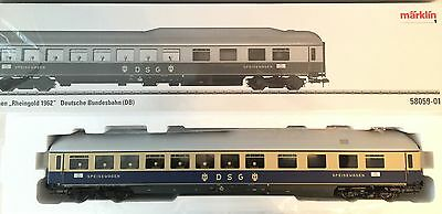 Märklin 1 Gauge 58059-01 Buffet Car from set Rheingold NIP