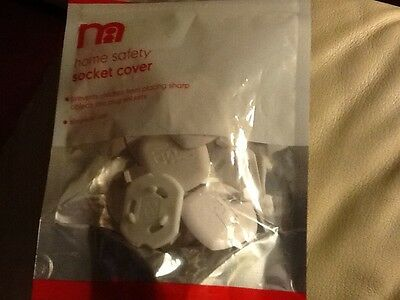 NWOT Mothercare home safety socket covers pack of 12