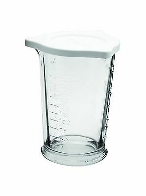 Anchor Hocking 77832 Triple Pour Measuring Cup Glass 8-Ounce