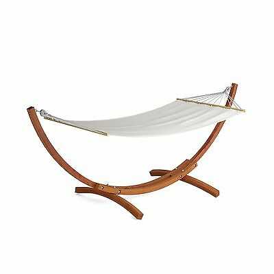 CorLiving PWC-334-H Wood Canyon Larch Wood Patio Hammock