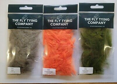 Hends CDC Feathers   1 Gram Bag   Choice of Super Colours
