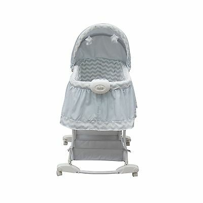 Bily B3350CHV Rocking Bassinet Serene Chevron