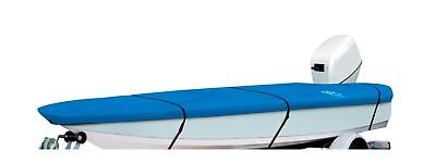 "Classic Accessories Model AA Stellex Boat Cover Blue 12' - 14' L x 68"" W"