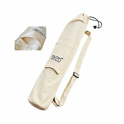 Portable Yoga Mat Bag with Large Pocket - Adjustable Shoulder Strap Yoga Bag ...