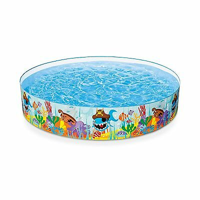 """Intex Ocean Reef Snapset Inflatable Pool 8' X 18"""" for Ages 3+"""
