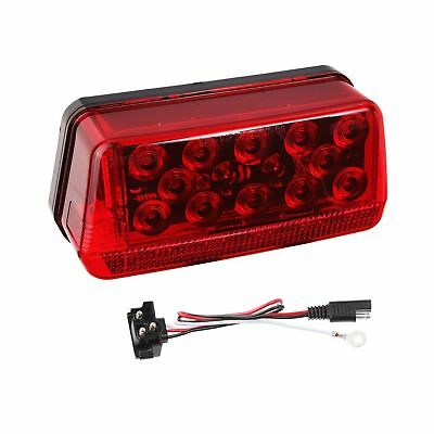 "Wesbar 281595 Waterproof LED Wrap-Around Tail Light Over 80"" Wide Trailer Lef..."