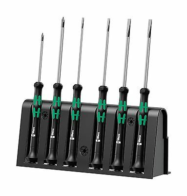 Wera 2035/6 Kraftform MicroSlotted/Phillips Electronics Screwdriver Set and R...