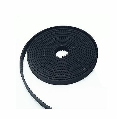 HICTOP 2 Meters Rubber Opening Belt GT2 2mm Pitch 6mm Wide Timing Belt for Re...